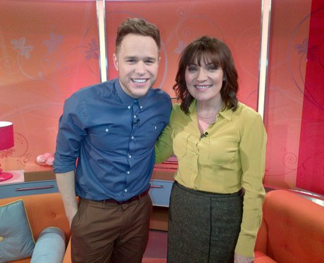 Olly Murs And Lorraine Kelly