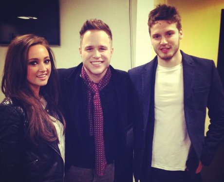 Olly Murs And Nick Powell