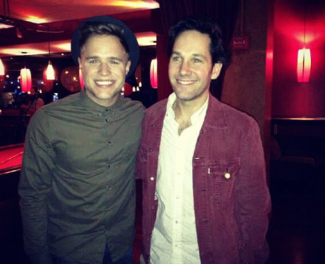 Olly Murs And Paul Rudd