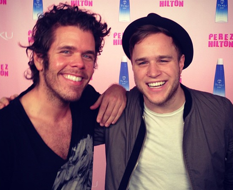 Olly Murs And Perez Hilton