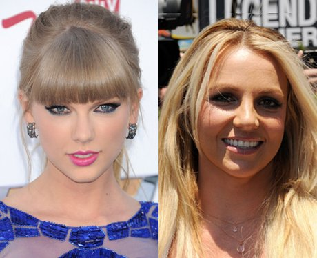Taylor Swift and Britney Spears