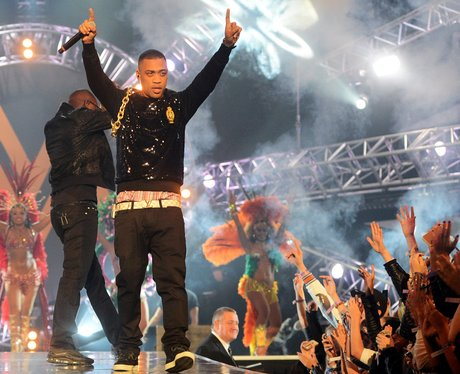 Wiley performs at the Mobo awards 2012