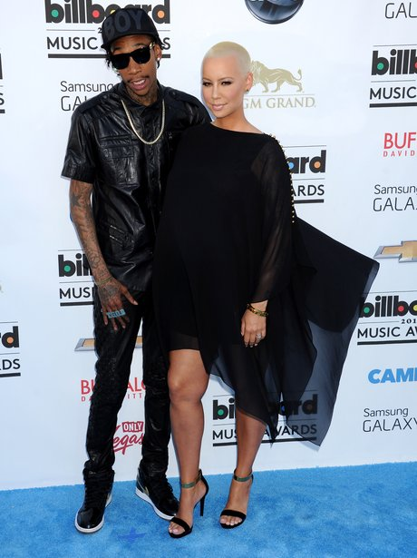 Wiz Khalifa and Amber Rose Billboard Music Awards