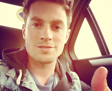 Adam Pitts posts a selfie from the car