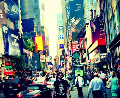 Jay McGuiness in New York