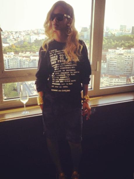 Rihanna instagram 2013
