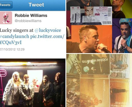 Robbie Williams fans