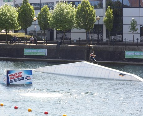 Salford Wake Park Launch 2013