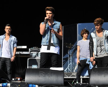 Union J on stage
