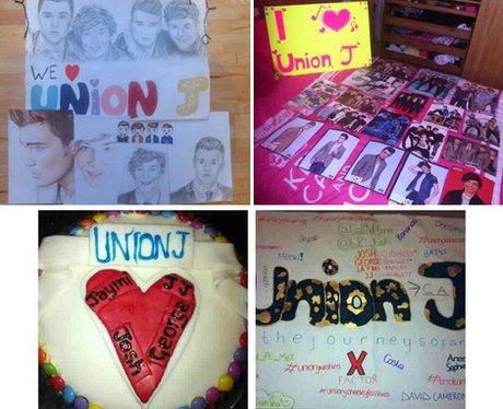 Union J fans