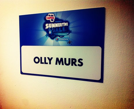 Backstage At The Summertime Ball 2013
