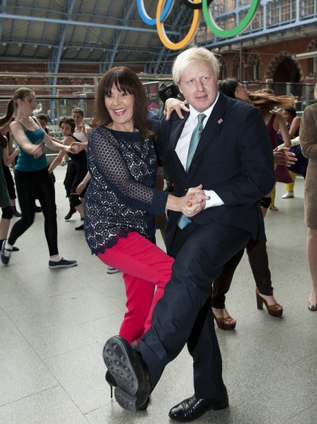 Boris Johnson Dancing With Arlene Phillips
