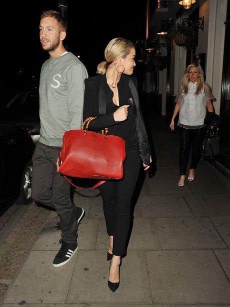 Calvin Harris, Rita Ora and Ellie Goulding