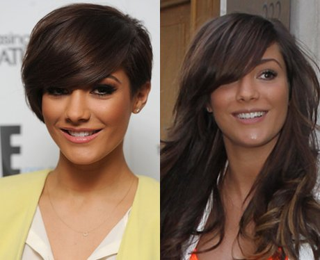 Frankie Sandford Long Hair