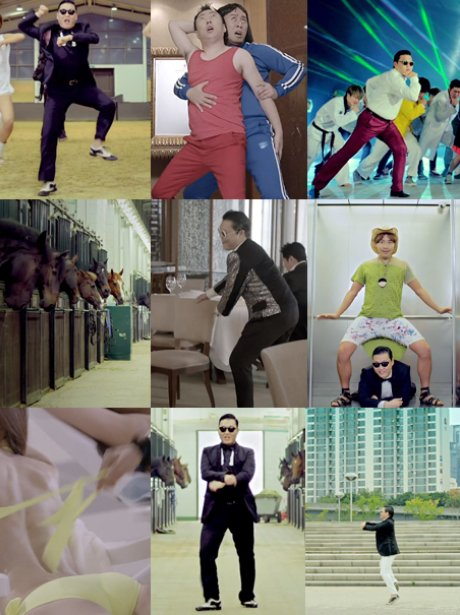 Guess The PSY Muisc Videos