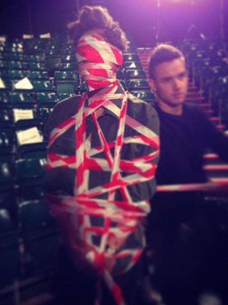 Harry Styles Tied Up Instagram