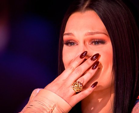 Jessie J crying on The Voice