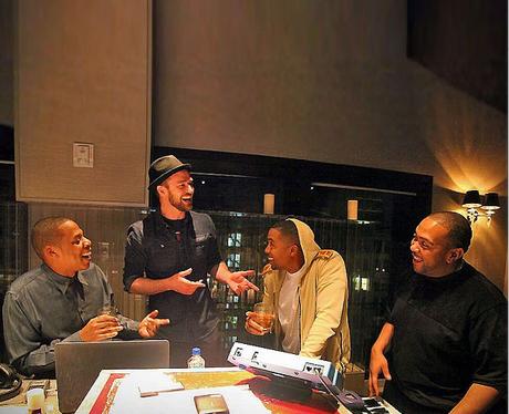 Justin Timberlake, Jay-Z and Timbaland