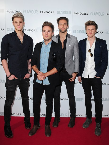 Lawson at the Glamour Women In Music Awards 2013