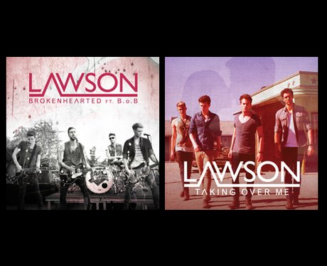 Lawson single covers