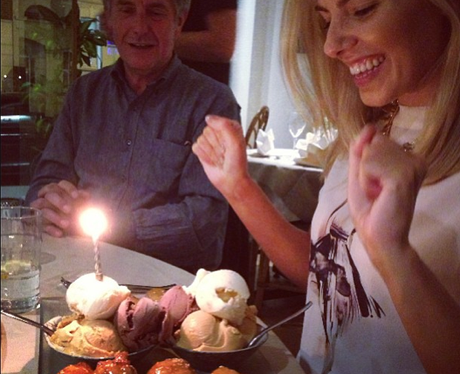 Mollie King birthday celebrations instagram