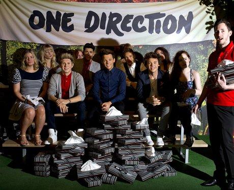 One Direction Waxwork 2013