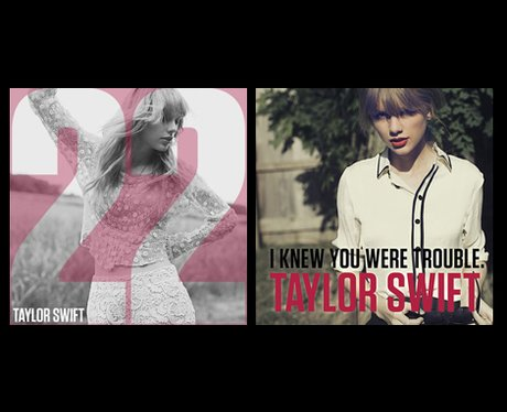 Taylor Swift single covers
