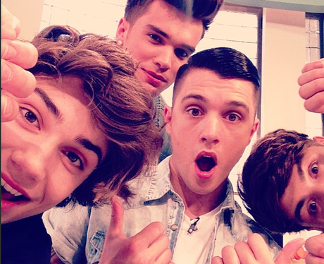 Union J Pose On Instagram