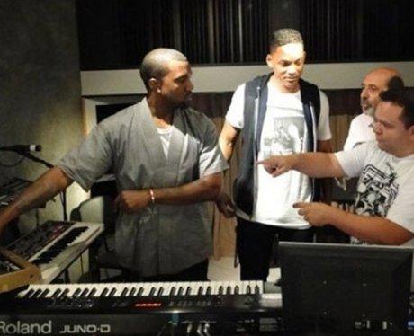 Will Smith Kanye West Studio Twitter