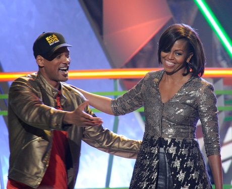 will smith and Michelle Obama