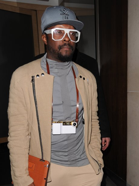 Will.i.am in London