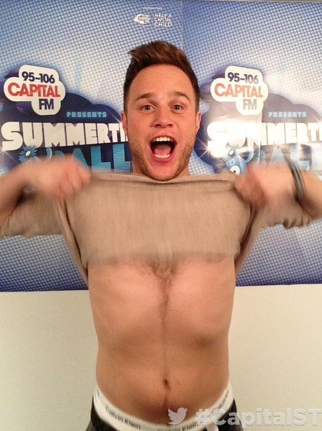 Olly Mrs At THe Summertime Ball 2013 Twitter Mirro