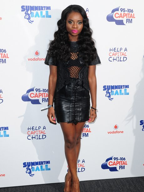 A*M*E Red Carpet At The Summertime Ball 2013