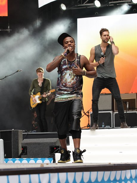 B.o.B and Lawson At The Summertime Ball 2013