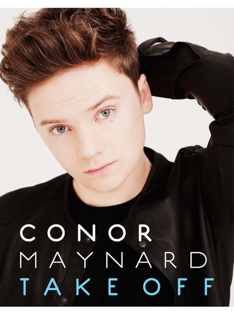 Conor Maynard 'Take Off' Book Cover