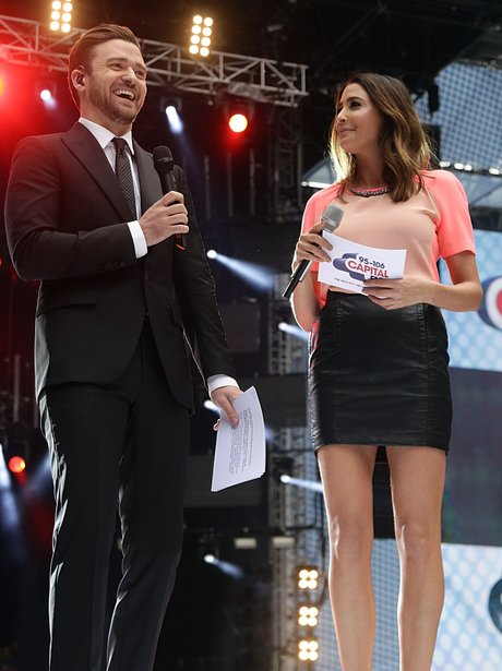 Dave Berry and Lisa Snowdon At The Summertime Ball