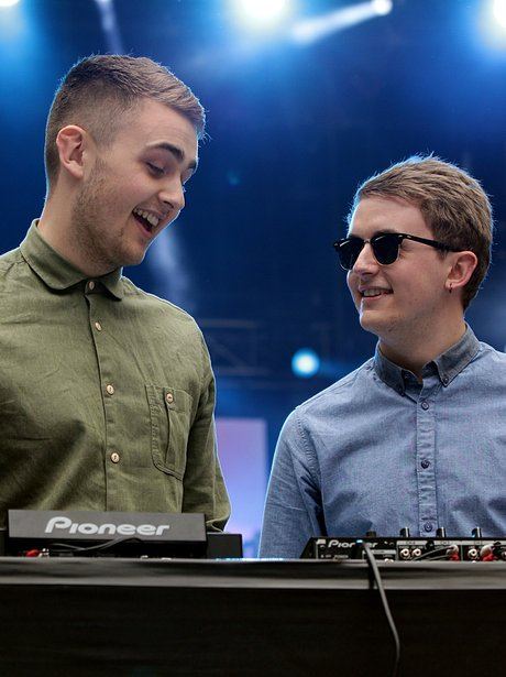 Disclosure At The Summertime Ball 2013