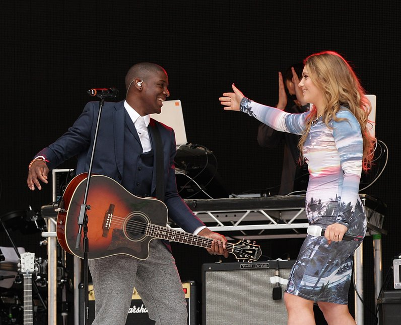 Ella Henderson At The Summertime Ball 2013