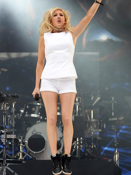 Ellie Goulding At The Summertime Ball 2013
