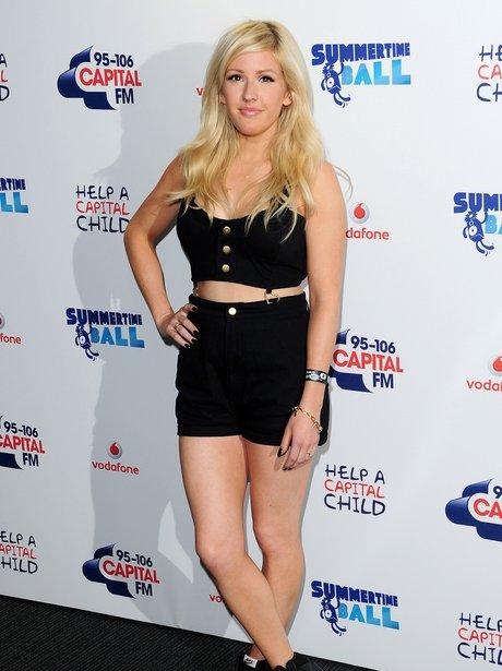 Ellie Goulding Red Carpet Summertime Ball 2013