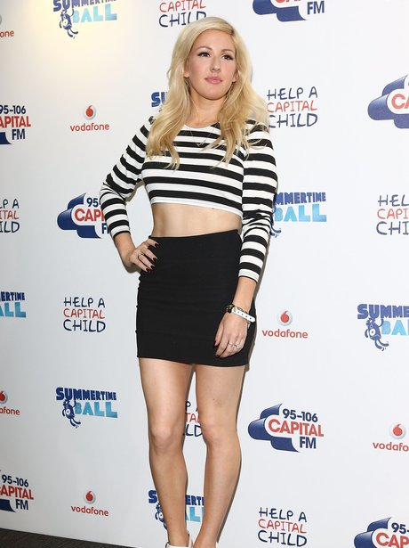 Ellie Goulding Red Carpet Summertime Ball 2013