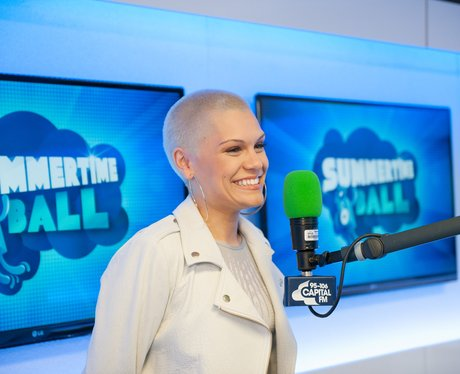 Jessie J backstage at the summertime ball 2013