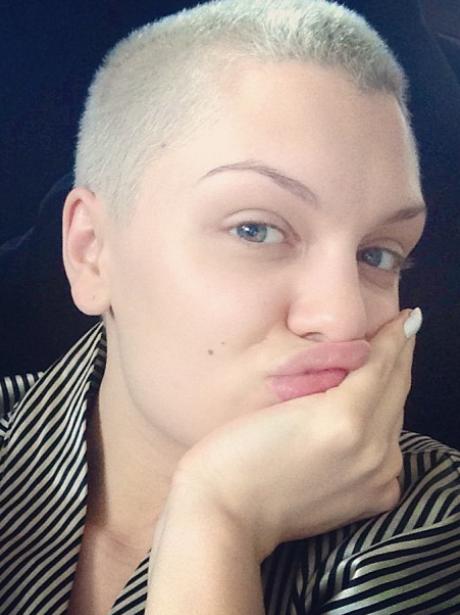 Jessie J wearing No Make Up