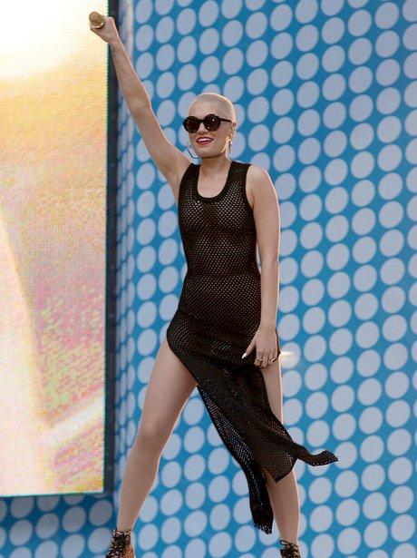 Jessie J Summertime Ball 2013