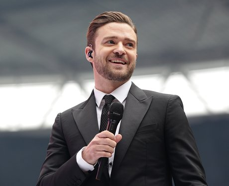 Justin timberlake at the summertime ball 2013 pictures capital justin timberlake smiles on stage at wembley stadium for capitals summertime ball voltagebd Images
