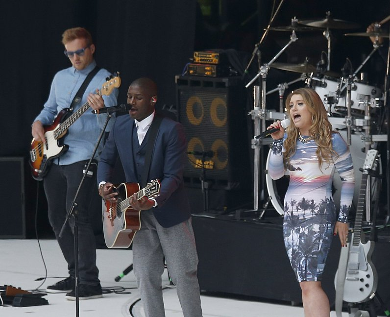 Labrinth and Ella Henderson At The Summertime Ball