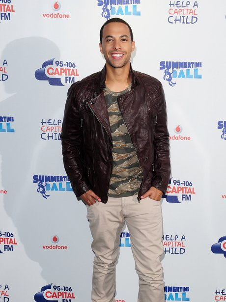 Marvin Red Carpet At The Summertime Ball 2013