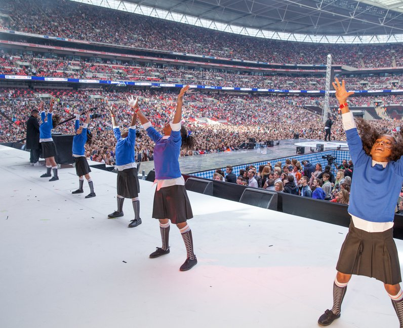 Naughty Boy at the Summertime Ball 2013