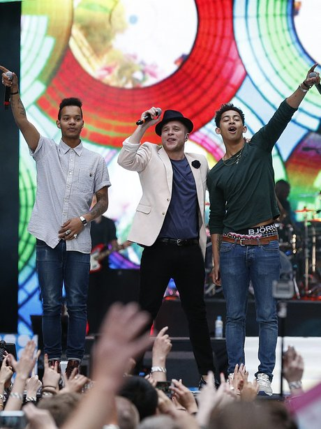 Olly Murs & Rizzle Kicks At The Summertime Ball 20