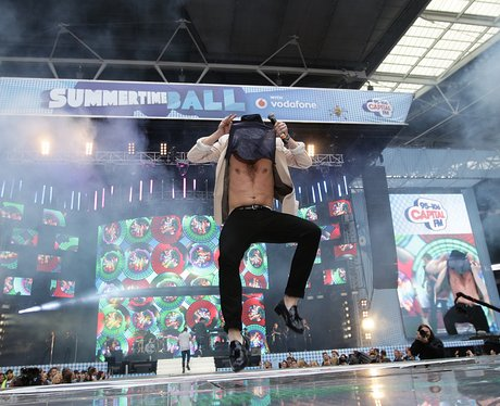 Olly Murs At The Summertime Ball 2013